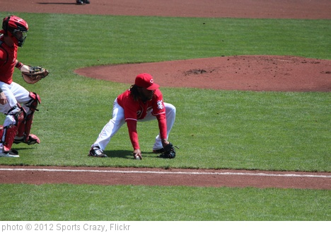 'Johnny Cueto P #47 Cincinnati Reds' photo (c) 2012, Sports Crazy - license: http://creativecommons.org/licenses/by-sa/2.0/