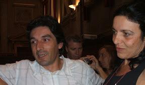 Massimo Camparini e Gilda Fontana, i genitori della piccola