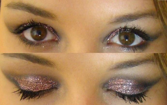maquiagem-preta-com-glitter