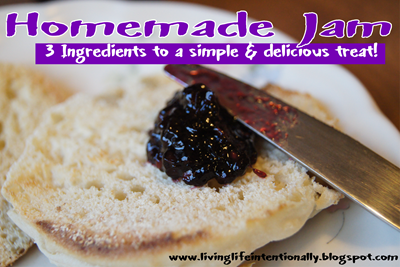 Homemade Jam - 3 Ingredients to a simple and delicious treat