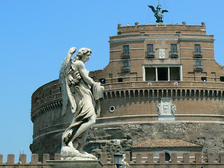 Obiective turistice Roma: Castello San Angelo
