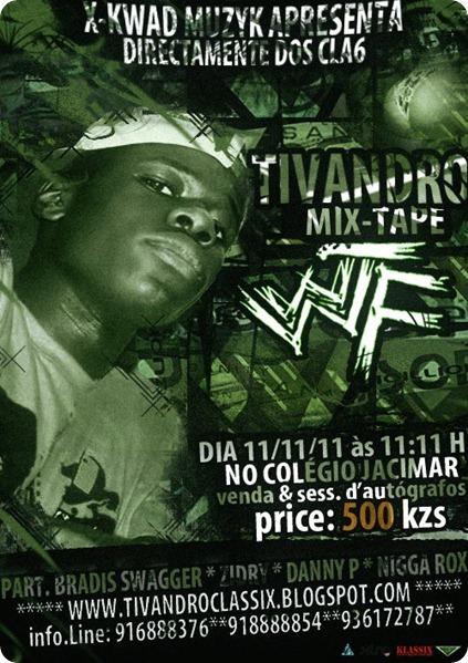 Tivandro - Mixtape 'WTF' [Dia 11.11.11]