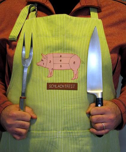 Schlachtfest apron