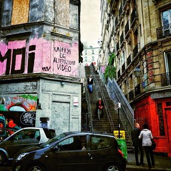 Paris Colors Of Montmartre