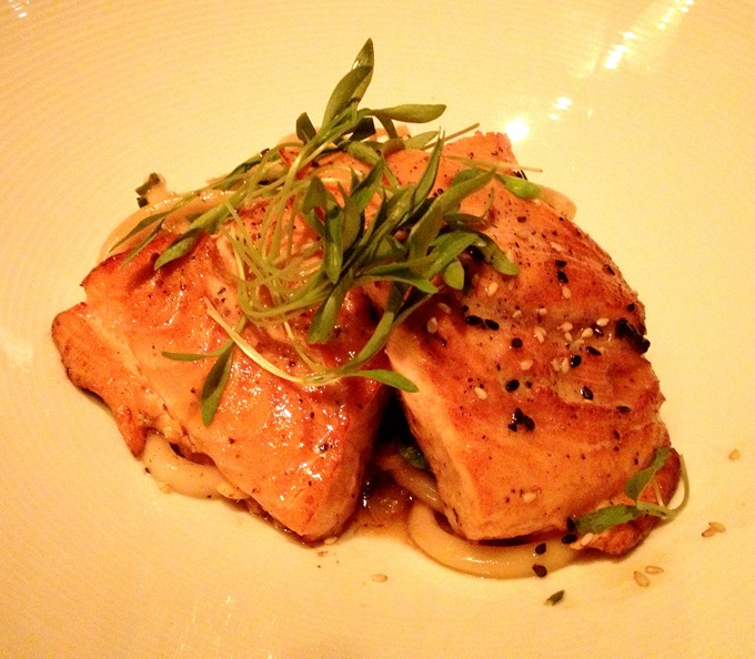 ... salmon cover with plastic wrap and shook jpg ginger soy poached salmon