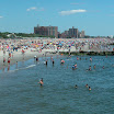 View of Coney Island Beach