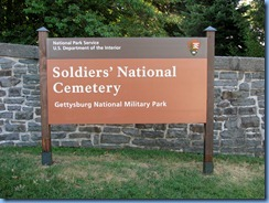2781 Pennsylvania - Gettysburg, PA - Gettysburg National Military Park Auto Tour - Soldier's National Cemetery