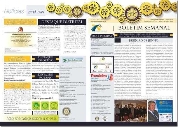 BOLETIM ROTARY 17.06 Frente e Verso