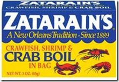 Crawfish Shrimp and Crab Boil Bag