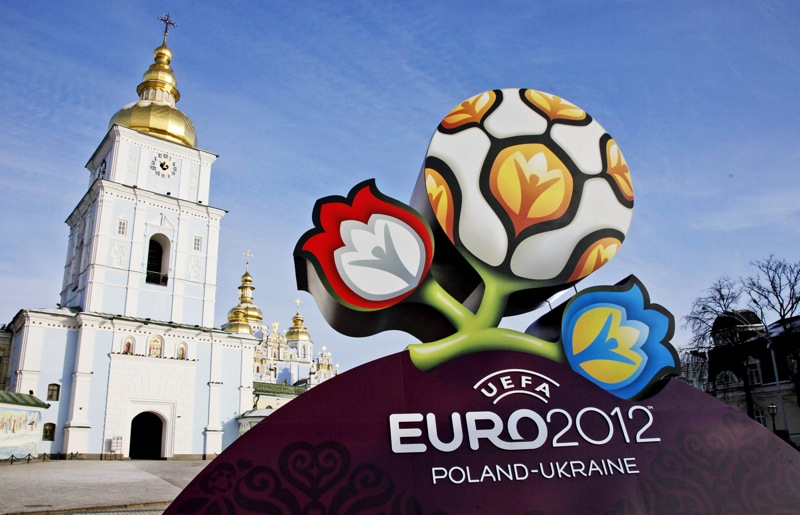 Euro 2012 Cup 3D Real Logo HD Wallpaper Vvallpaper Net
