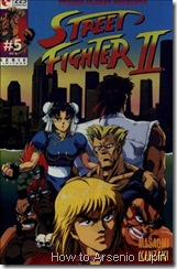 P00005 - Street Fighter II Manga #