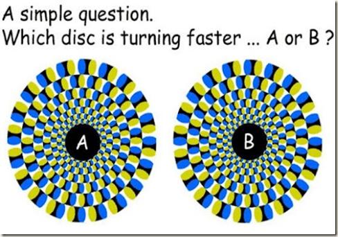 Qual disco gira mais rápido
