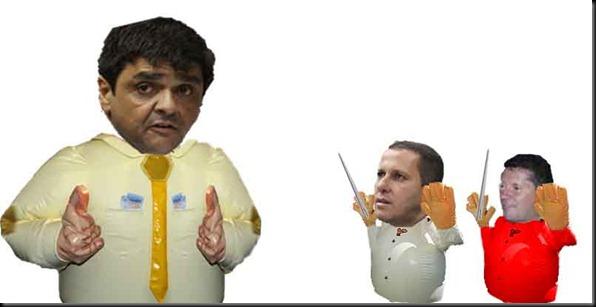 pré candidatos de são joao inflados