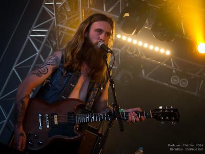 Kadavar au Hellfest 2014