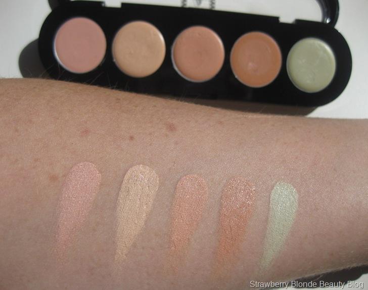 Makeup-Atelier-Corrector-Concealer-palette-CAPC2-swatches