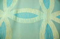 Ekskluzywna tkanina trudnopalna. Na zasłony, poduszki, narzuty, dekoracje. Błękitna.