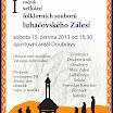 2013 - Setkání folklorních souborů luhačovského Zálesí
