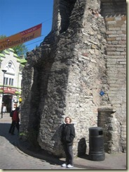E and old town walls (Small)