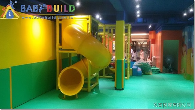 BabyBuild 室內兒童遊戲區施工收尾清潔作業