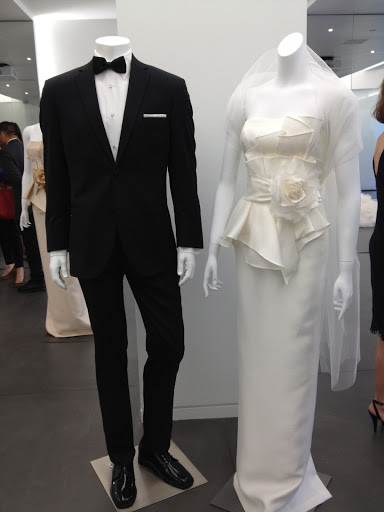 It 39s shown with a new Vera Wang retail tux available at Men 39s Warehouse