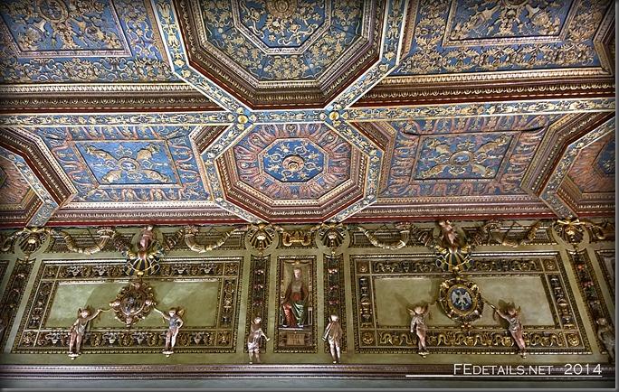 Palazzo Schifanoia, La Sala degli Stucchi, Foto3