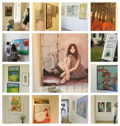 Medlemsutstillingen skedsmo kunstforening 2012