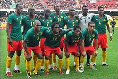 Selección de Camerún enfrenta a Macedonia, partido amistoso