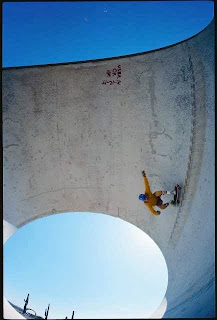 Bob really getting up high here in the pipe!
