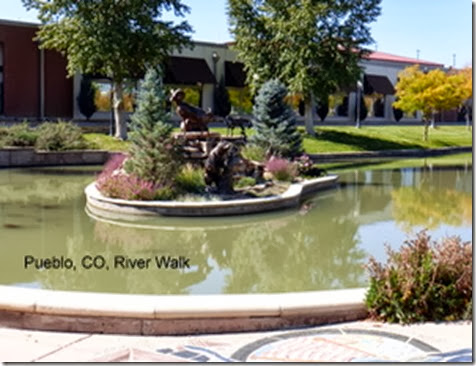 Pueblo, CO, River Walk