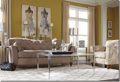 Malina Sofa with Allegra Chair