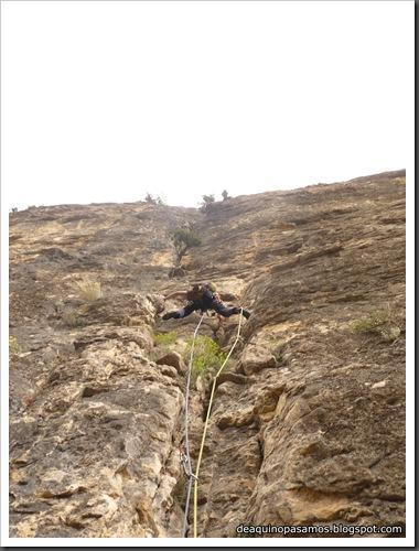 Via Gali-Molero 500m 6b  Ae (V  A1 Oblig) (Roca Regina, Terradets) (Omar) 0174