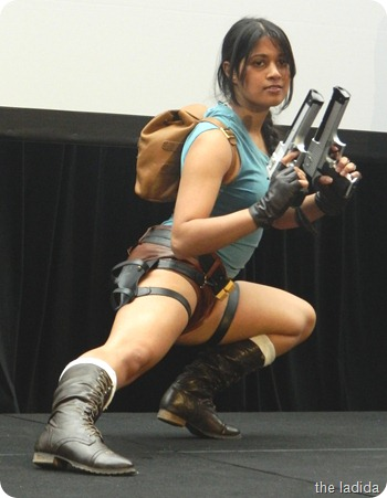 EB Expo Just 'Cos Cosplay Competition - Lara Croft from Tomb Raider