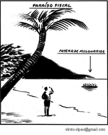 paraíso fiscal El Roto