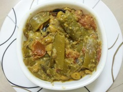 Flatbeans-Curry