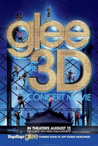 Glee3D_Poster