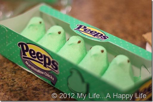 Peep Smores - Green Peeps