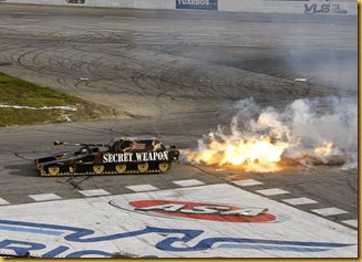 RMR Jet Car Burn, Photo Courtesy of Mike Evans