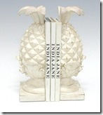 Pineapple Bookends