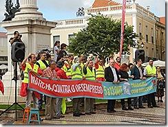 oclarinet. Marcha Contra o Desemprego 6.Out 2012