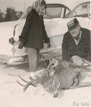 Bonnie and Marvin November 1955