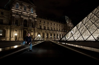 PalaisRoyal-MuséeDuLouvre, mromero, prioap, prioridad de apertura, long exposure, larga exposicion