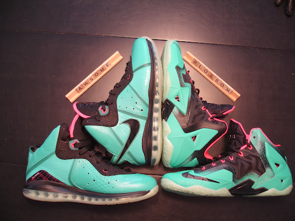 Nike LeBron XI iD South Beach Build by Awsome Blossom