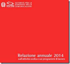 Relazione annuale 2014 dell'Agcom