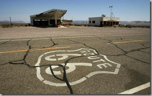 Route 66 pavement