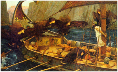 Waterhouse, John Williams, 'Ulises y las sirenas'.