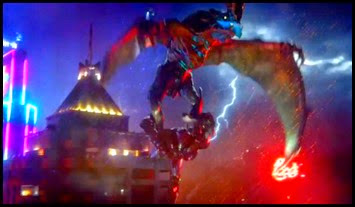 The Winged Fury Otachi takes Gipsy Danger for a ride