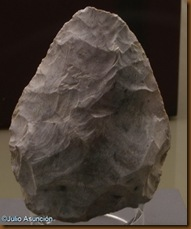 Bifaz de Abauntz - Arraitz Orkin - Museo de Navarra