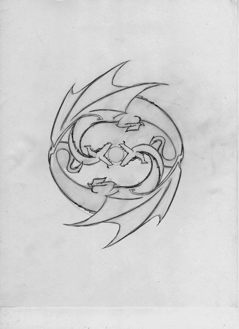 Plantillas Y Dise&241os De Tatuajes Pez Koi Coi O Carpa Dragones Ying