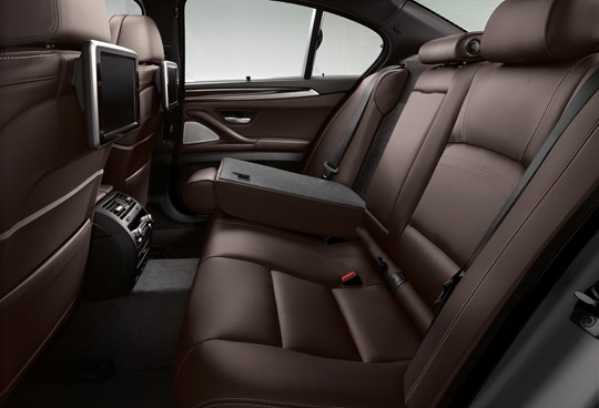 2014 BMW 5 series rear seat