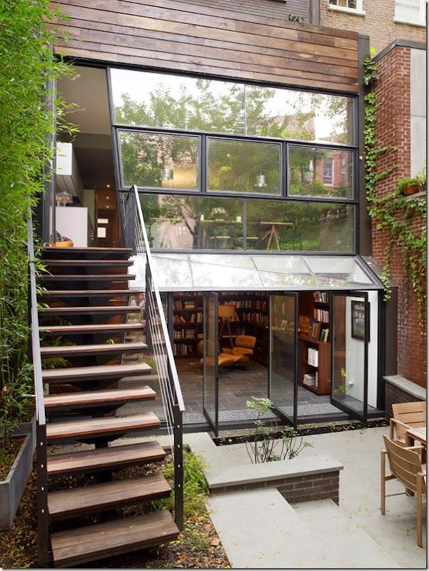 case e interni - Chelsea - casa moderna - tre piani (1)